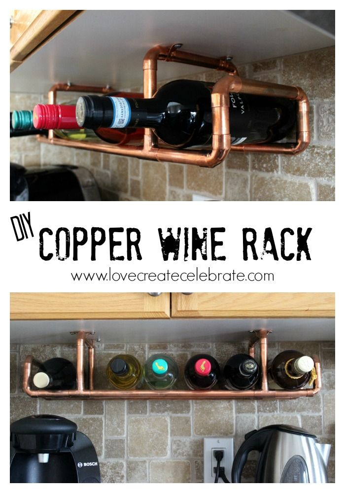 Check out this clever DIY wine rack