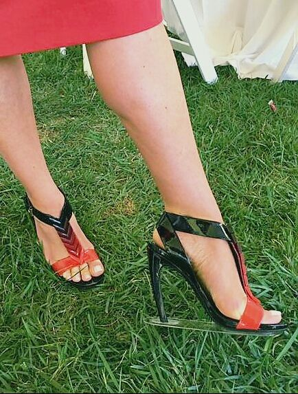 edfa54a26 Protect your heels from grass with Grasswalkers. Our heel stopper  technology lets you wear your favorite heels at outdoor events without  risking to ruin ...