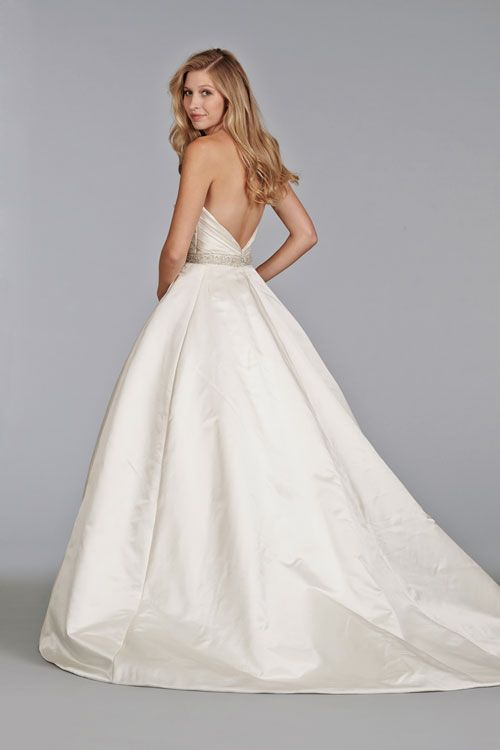 Style Bridal Gowns Wedding Dresses By Tara Keely Shown Ivory Satin Ball Gown Gathered Sweetheart Bodice With Beaded Belt At Waist Full Skirt