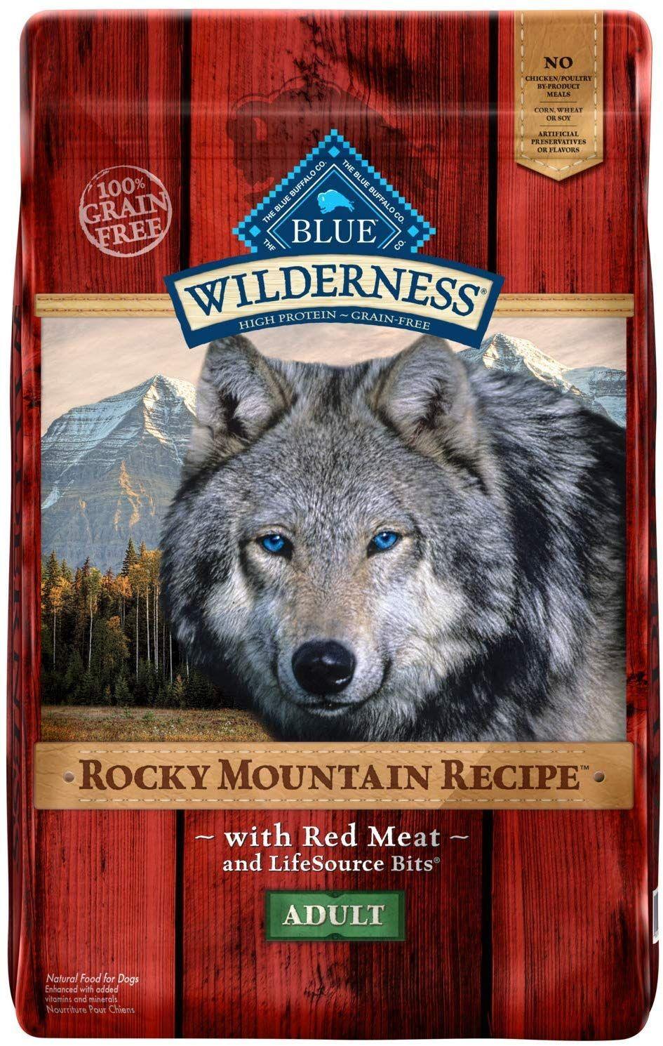 Amazon Com Blue Buffalo Wilderness Rocky Mountain Recipe High