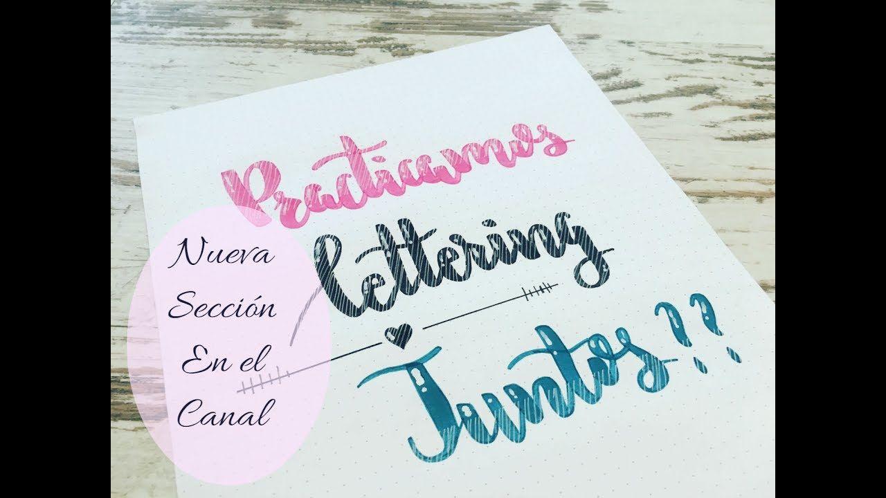 Lettering Para Principiantes Youtube Cartas Como Hacer Lettering Dibujando Letras