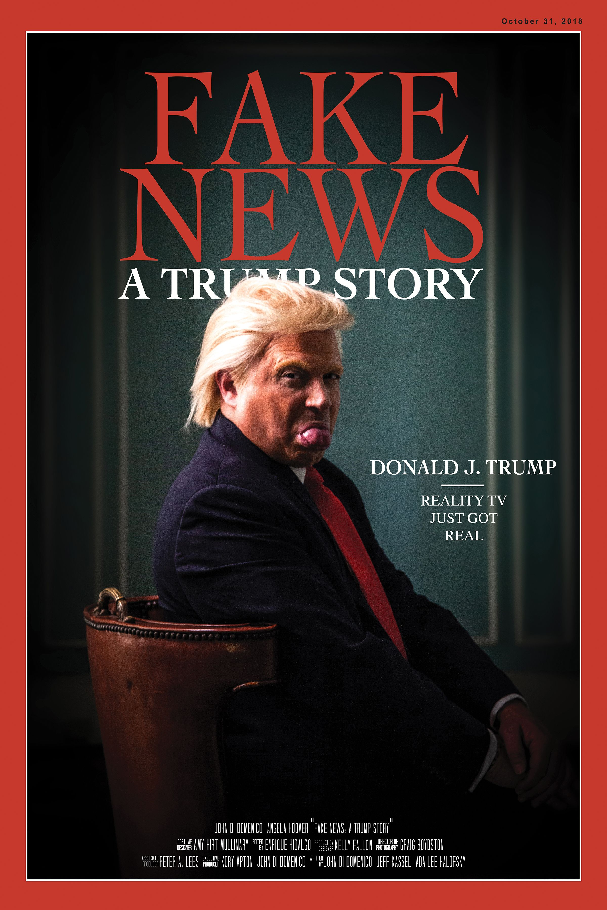 Fake News A Trump Story my Amazon Prime Comedy Show is now