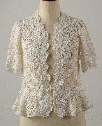 tops y blusas a ganchillo (crochet)