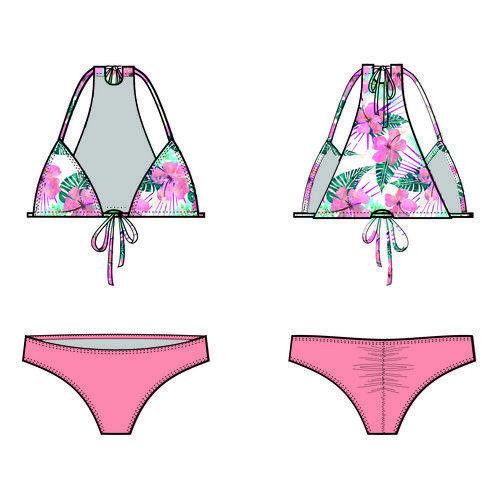Free sewing pattern for bikini