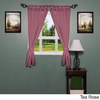 Bathroom Window Curtain Panel