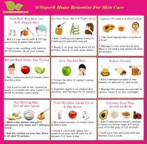 Home Remedies For Skin Care With Images Skin Care Home