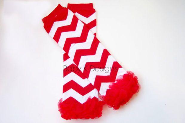 10deebb4e610b4 Baby Leg Warmers. Chevron Striped Legwarmers. Girls Candy Cane Red Christmas  Chiffon Ruffle Legwarmers. Halloween Purple Pink Black n White
