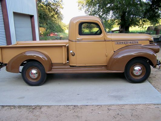 1946 Chevrolet Old Chevy Truck Pickup Bless The Man For