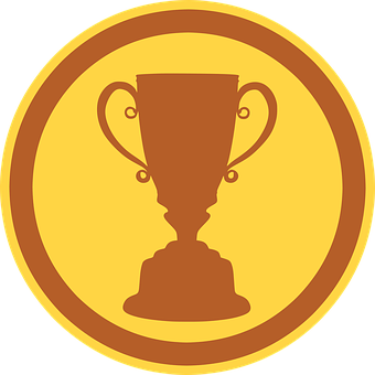Price 5 Award Cup Icon Win Medal Make A Donation Cool Landscapes Vector Graphics Illustrations