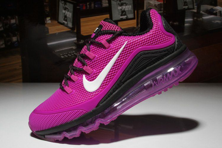 b936e94b6cd5 Nike Air Max 2018 Elite Hot Black Purple Shoes For Men