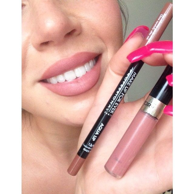 Lip Liner At The Moment Is Make Up
