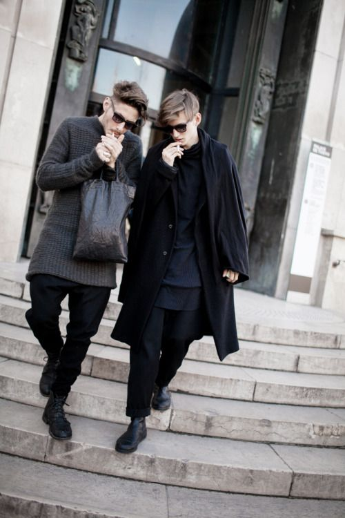 fashionloveskarl: Street Style Paris Menswear Fashion Week FW...