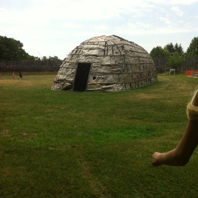 Native Woodland Plants: Native Longhouse #Iroquois #indian #culture