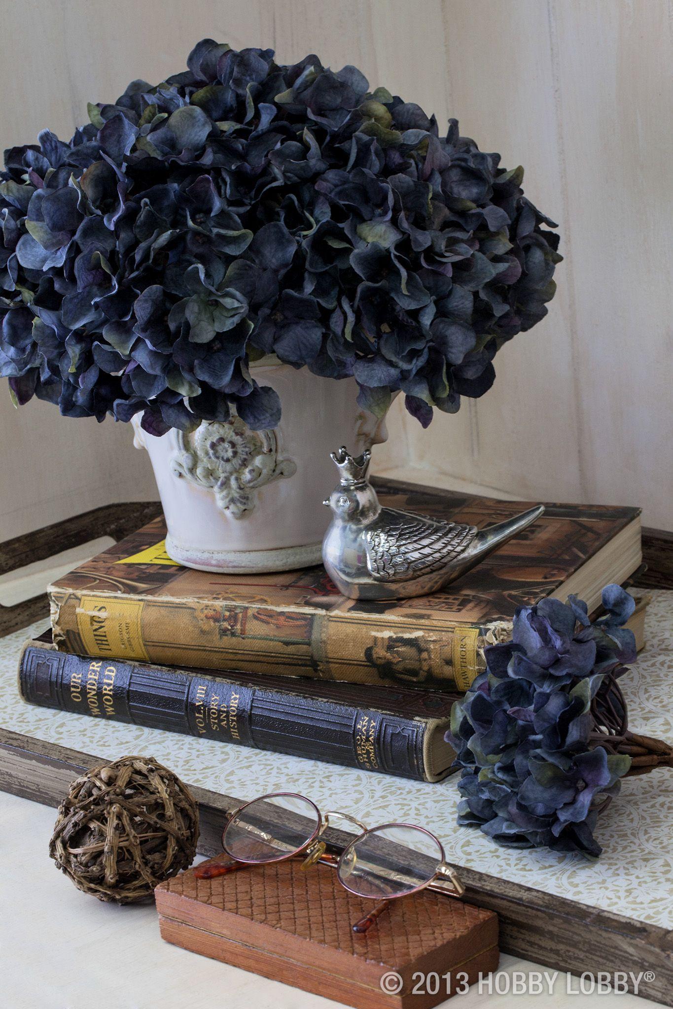 Fiori Di Ortensia Secchi pin di maria rosa hussar su azul | ortensie, composizioni