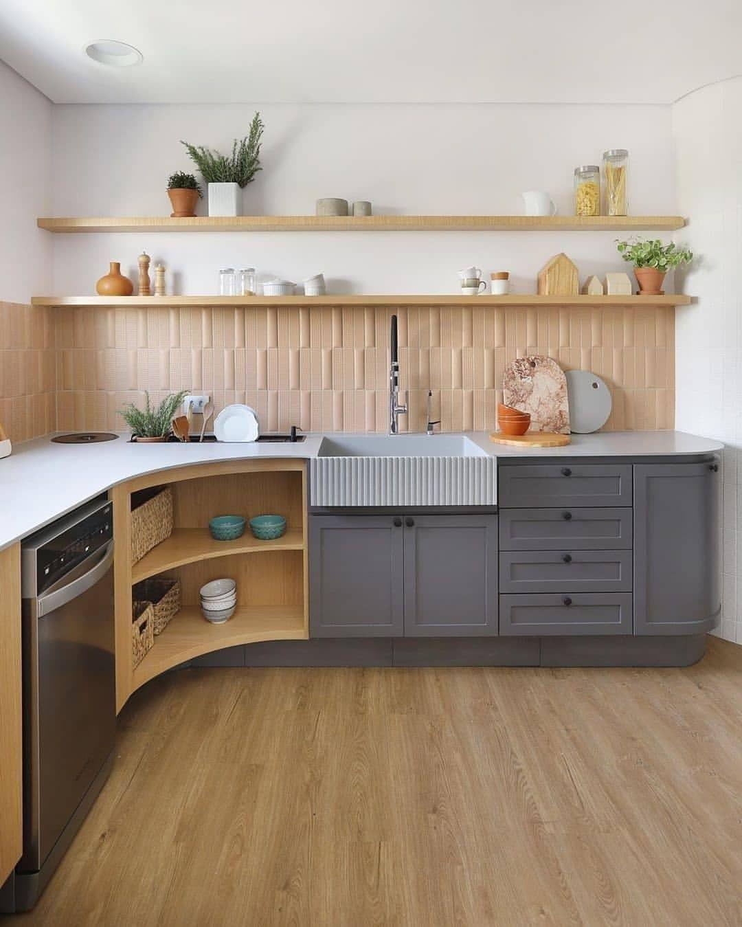 Letter L Kitchen Design   Home Design
