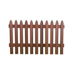 Woodshades 3 1 2 X 6 Redwood Woodgrain Gothic Composite Fence Panel With Images Fiberon Privacy Fence Panels Fence Panels