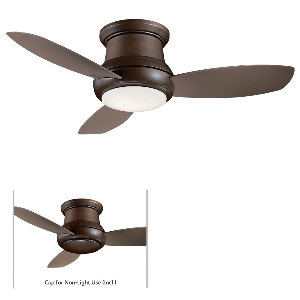 Minka Aire Concept Ii 44 Flush Mount Includes Full Function Hand Held Remote Control System I Flush Mount Ceiling Fan Ceiling Fan Ceiling Fan With Remote
