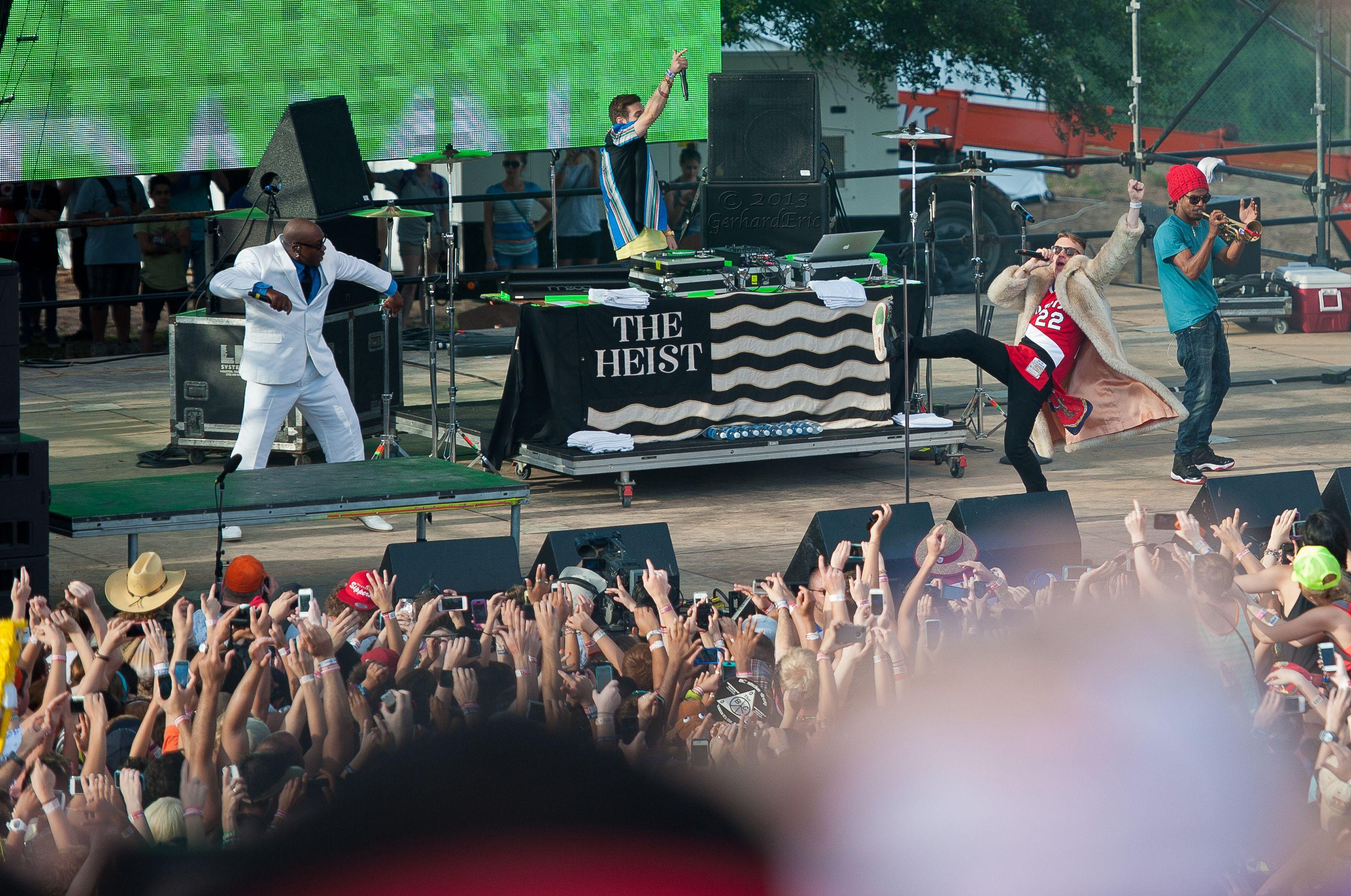 Macklemore and Ryan Lewis - Houston, TX Free Press Summer Fest 2013 / taken by GerhardEric