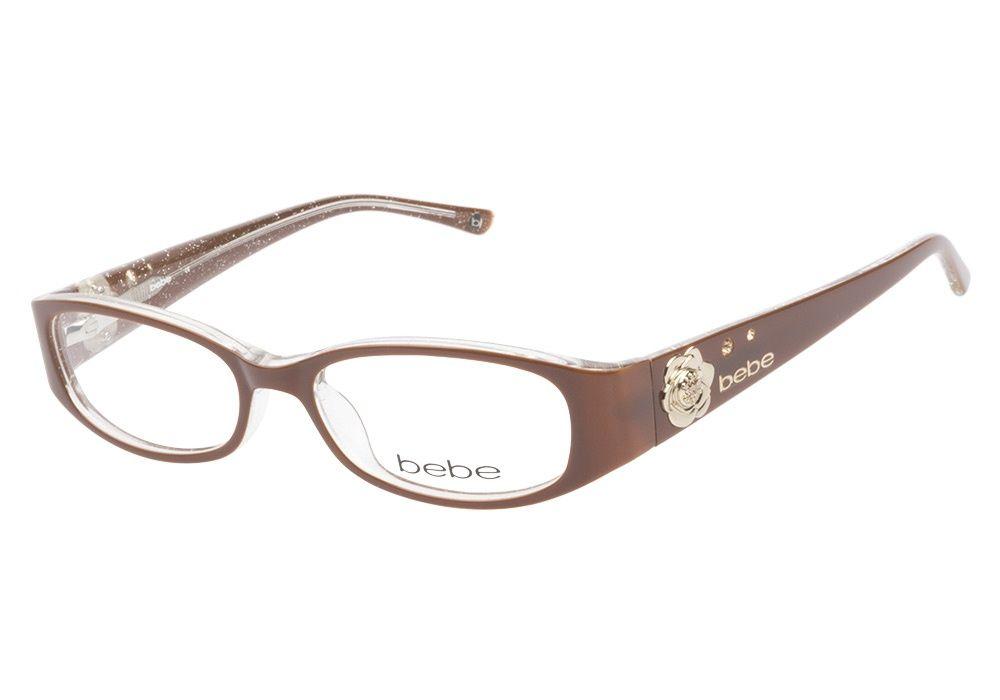 Bebe Calming 5034 Topaz eyeglasses are deliciously delightful. This ...