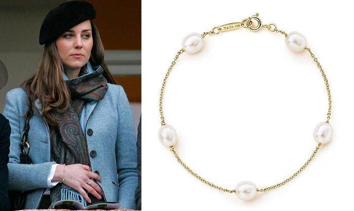 909a2de6e Tiffany-Elsa Peretti 'Pearls by the Yard' Bracelet-Kate Middleton - Dress  Like A Duchess