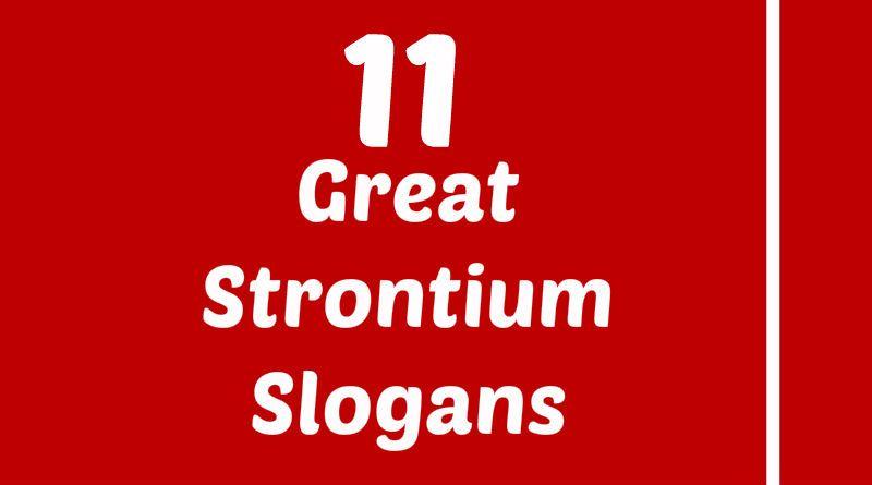 Strontium Slogans Element Slogans Pinterest Slogan and Atomic - fresh periodic table titanium atomic mass