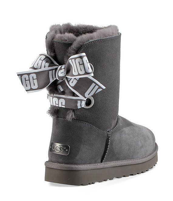 UGG® Custom Bailey Bow Short Boots | Dillard's