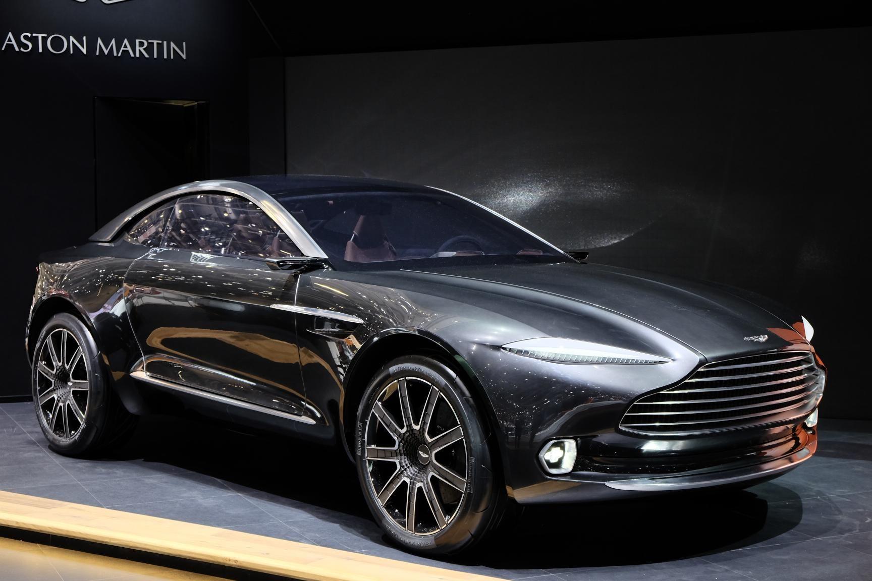 all-electric all-wheel drive aston martin dbx concept | concept