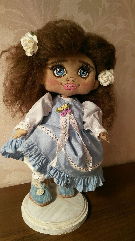 Купить Кукла текстильная - подарок, подарок на любой случай, текстильная кукла, игрушка ручной работы