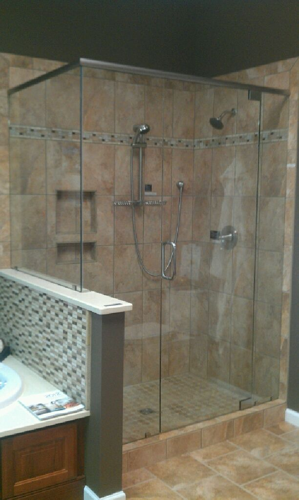 Pic of the new shower I want to replace my garden tub | For the Home ...
