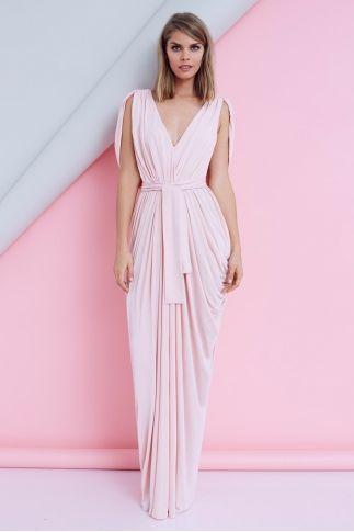 SHEIKE Grecian Maxi Dress $179.95 | Dresses, Bridesmaid
