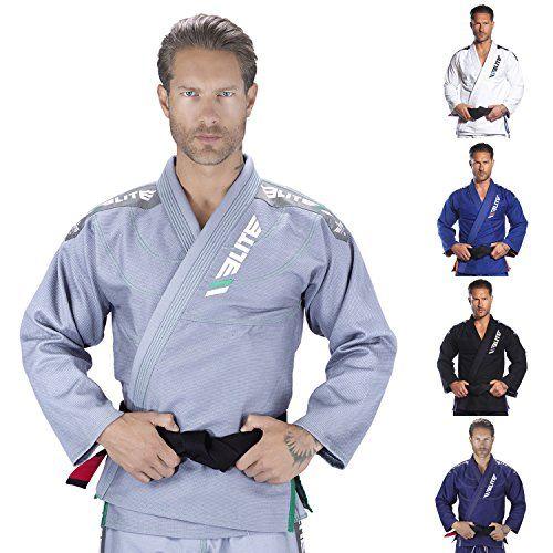 Lightweight Brazilian Jiu Jitsu Gi BJJ Gi W//Preshrunk Fabric Adult /& Childre