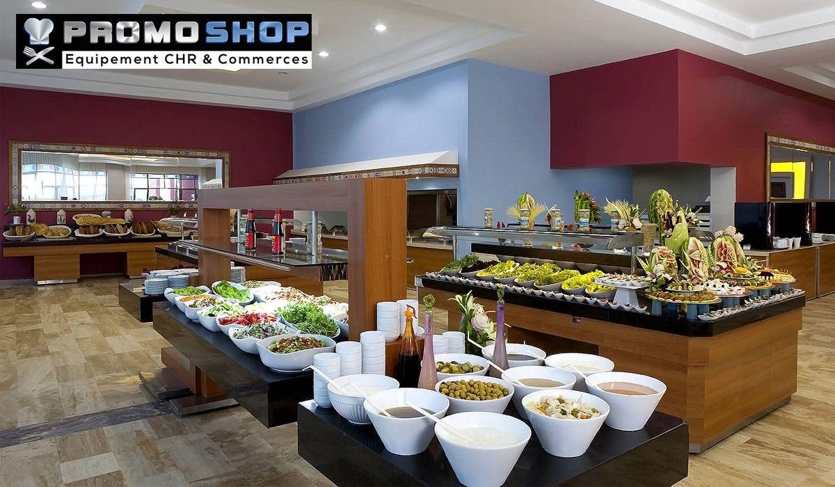 Mobilier self et buffet idéale pour les professionnels