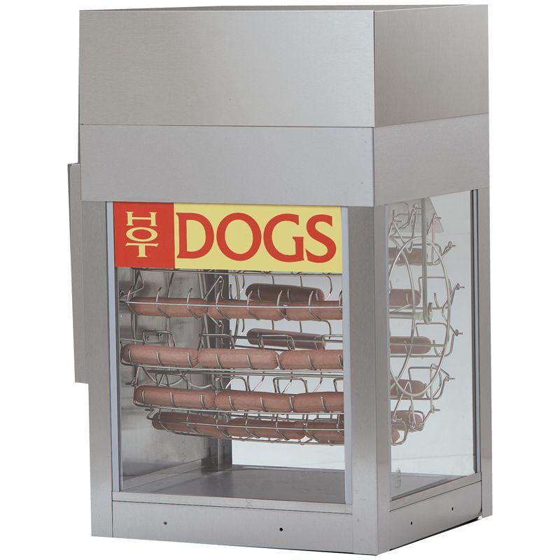 Dogeroo Hot Dog Rotisserie Hot Dogs Food Equipment Gold Medal