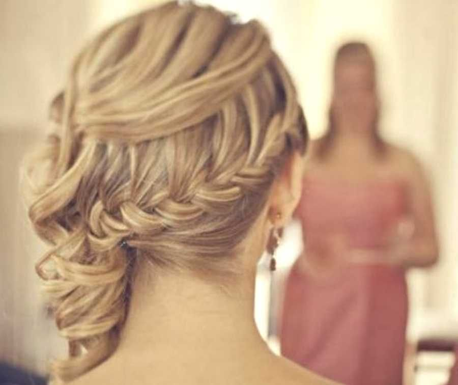 Wedding hairstyles for long curly hair pinterest