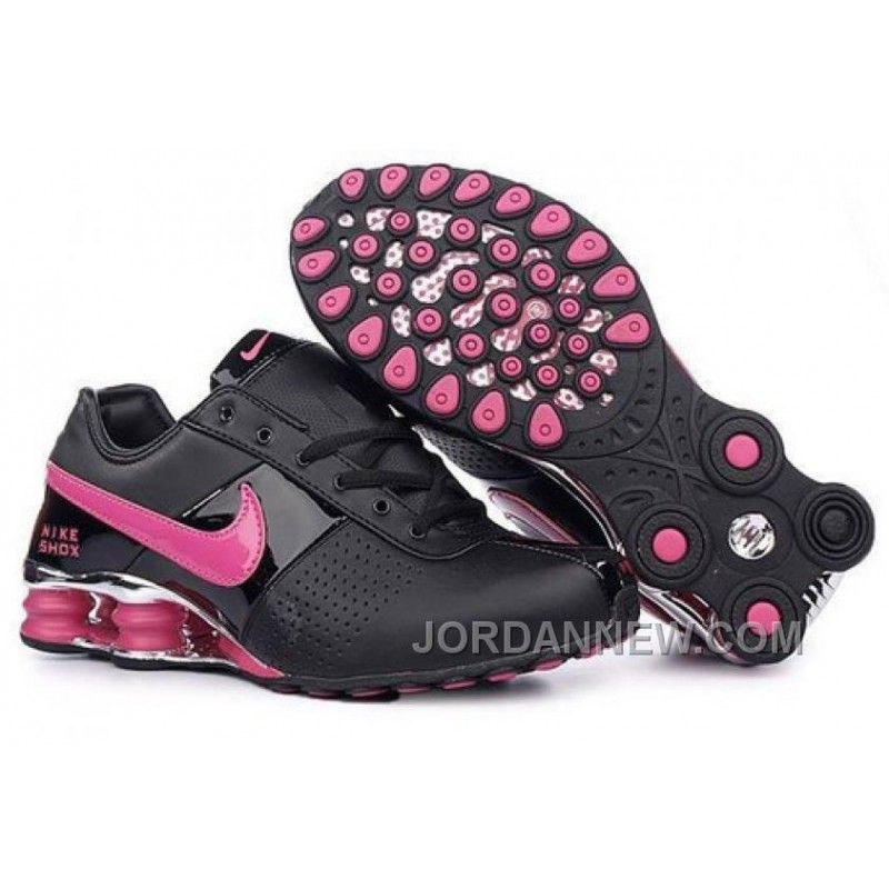Women's Nike Shox OZ Shoes Black/Pink/Silver New Style, Price: $80.36