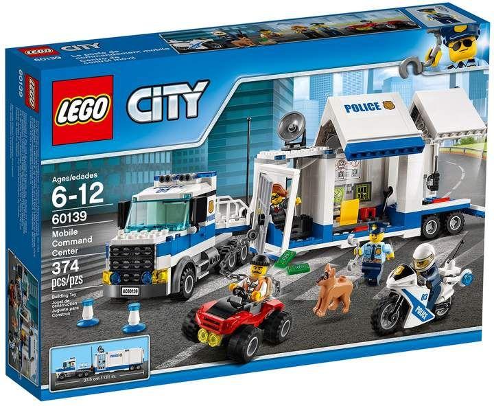 Lego City Mobile Command Center Set 60139 Lego City Police Lego City Mobile Command Center