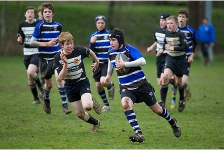 Bath Rugby Youth Under 14s On The Attack Against Walcot On Sunday Rugby Youth Baseball Cards