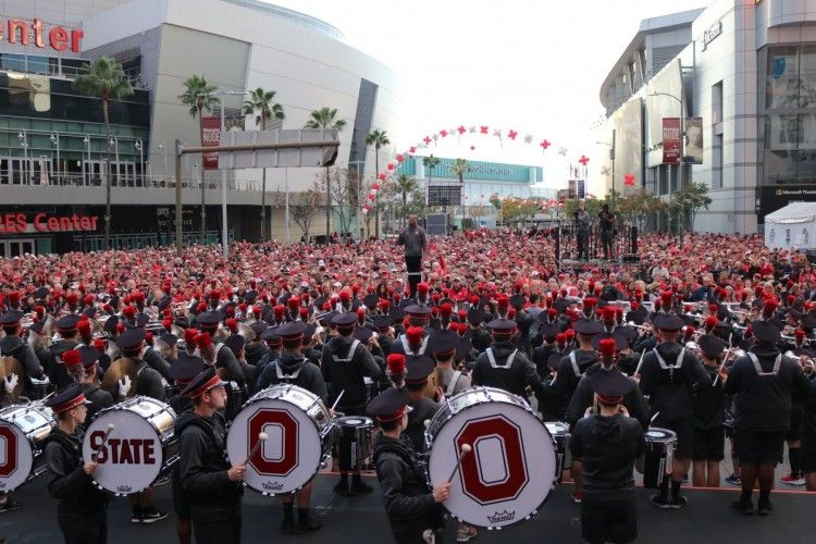 Slideshow Ohio State Marching Band in the Rose Parade