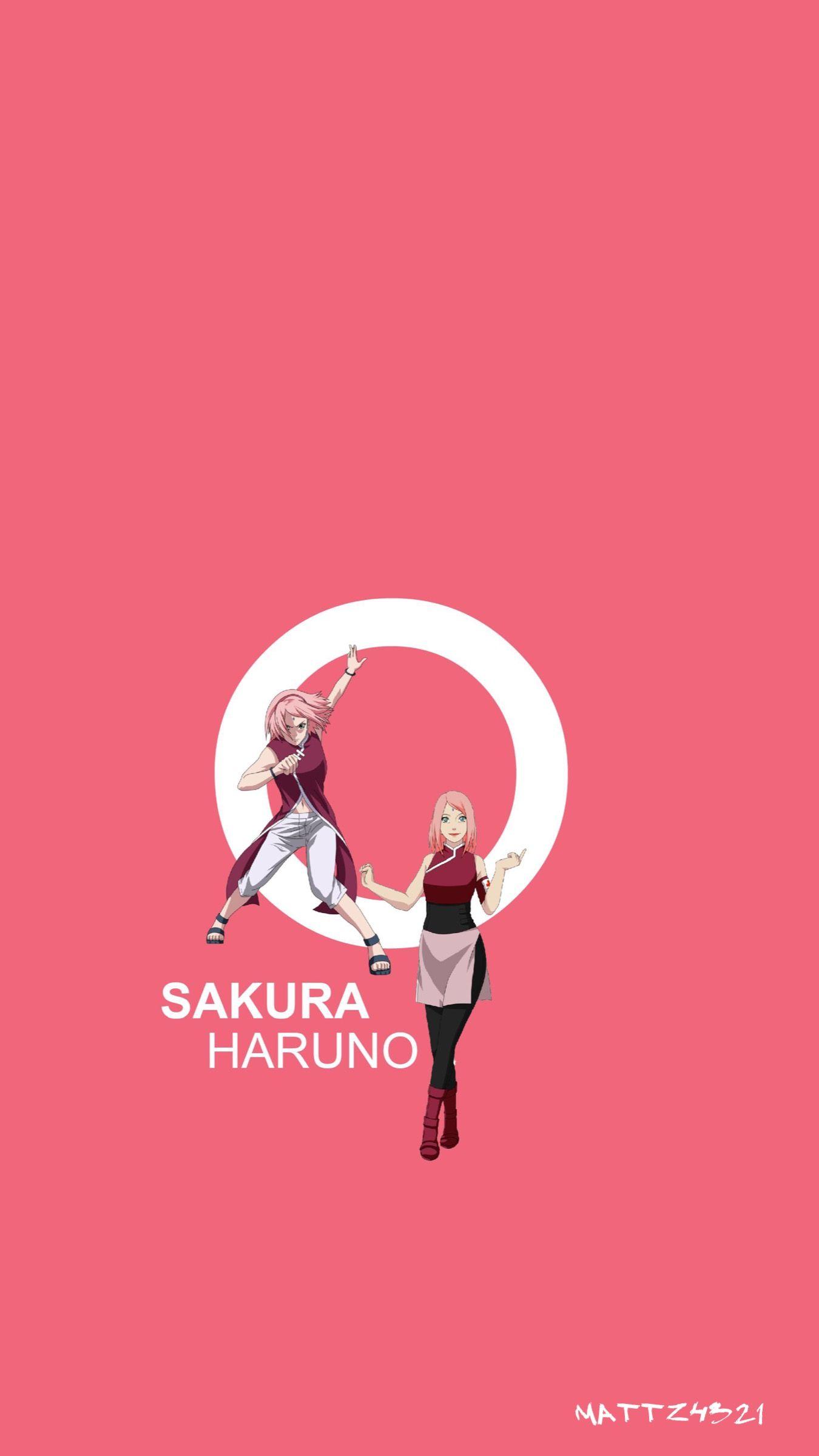 Naruto Iphone Wallpaper Naruto Sakura Shippuden Narutoshippuden Sakura Haruno Iphone Wallpaper Sakura