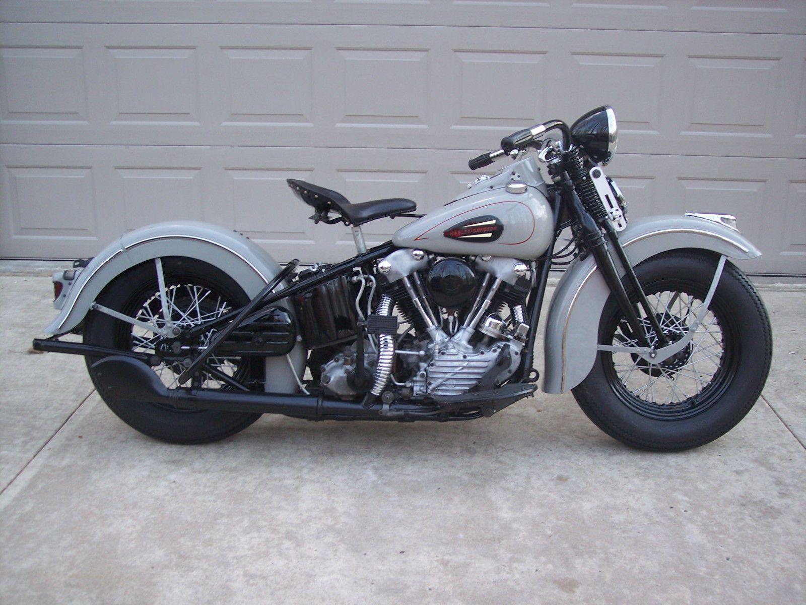 #Forsale 1940 Harley Davidson Knucklehead - Price @$33,400.00