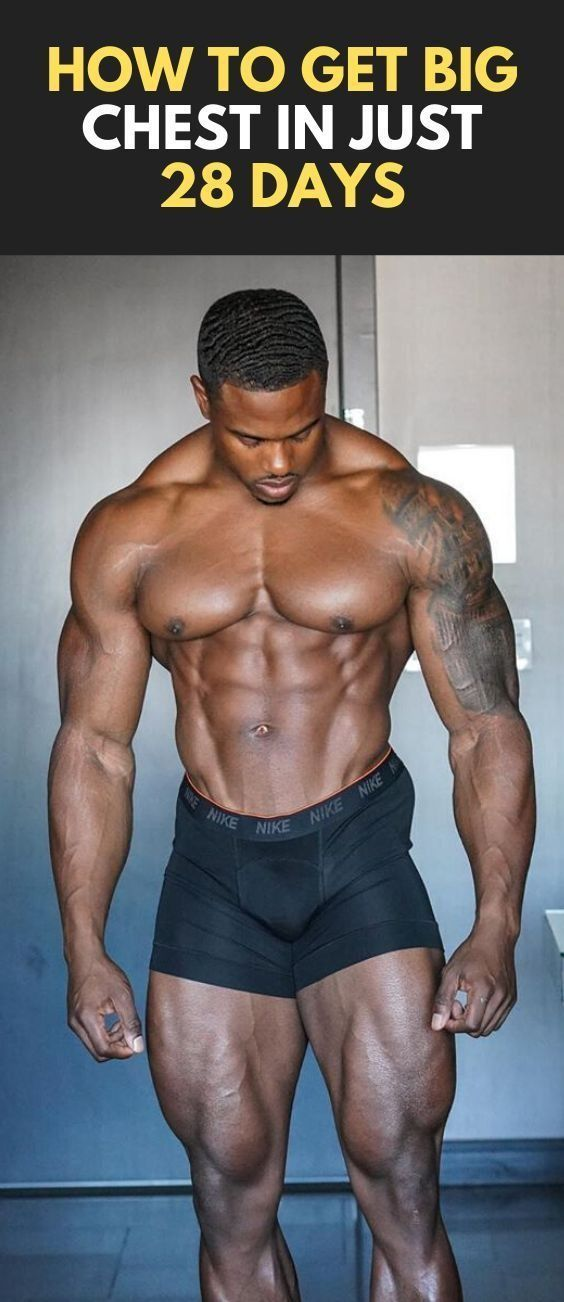 How To Get Big Chest In Just 28 Days #fitness #bodybuilding #gym