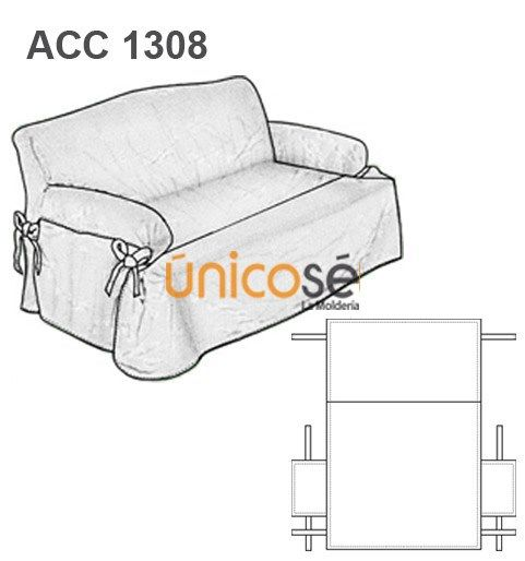 373b7b6efdb Ùnicosé La Moldería | Crochet | Forros para sillones, Fundas para ...