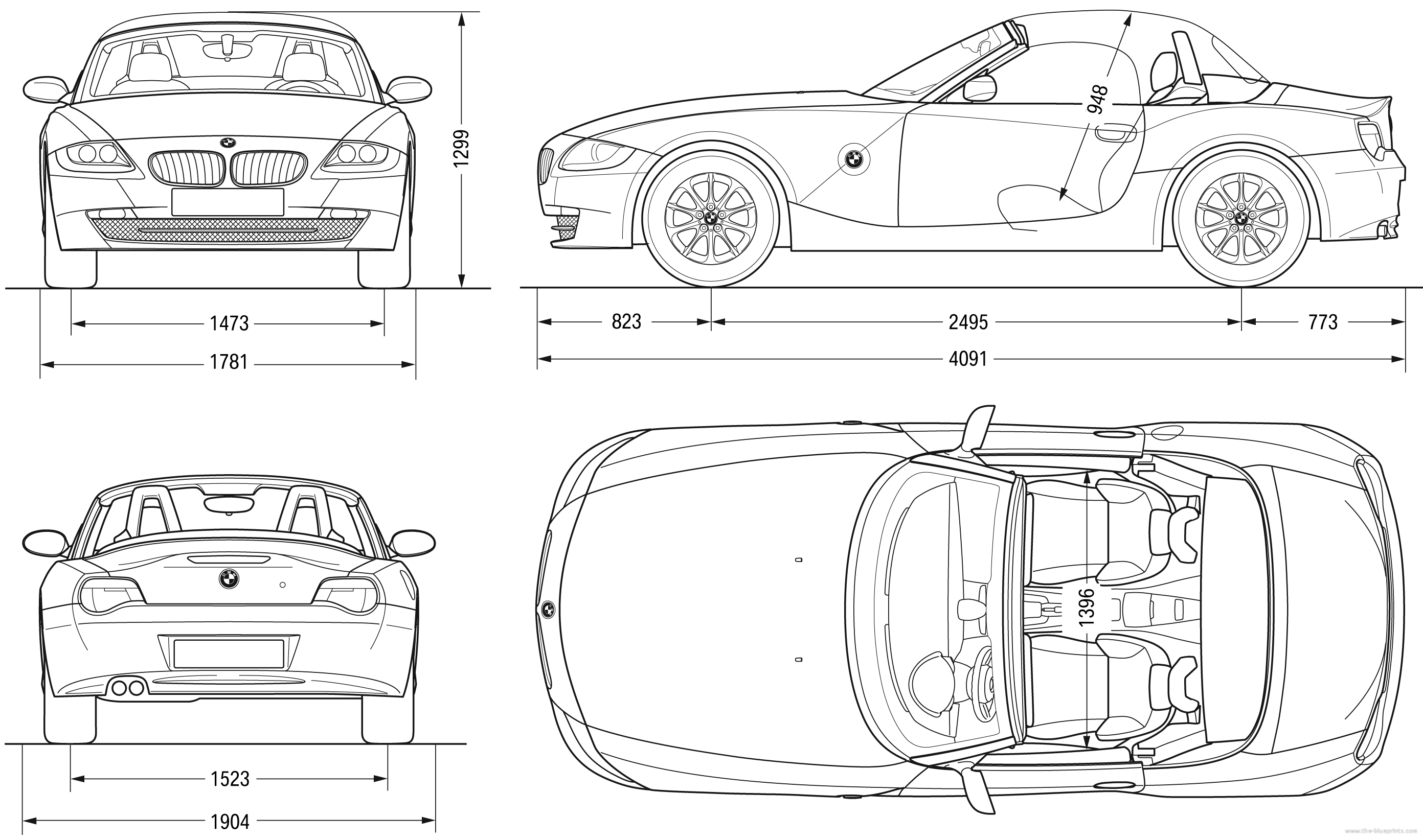Bmw z4 blueprints pinterest bmw z4 bmw and cars bmw z4 malvernweather Image collections