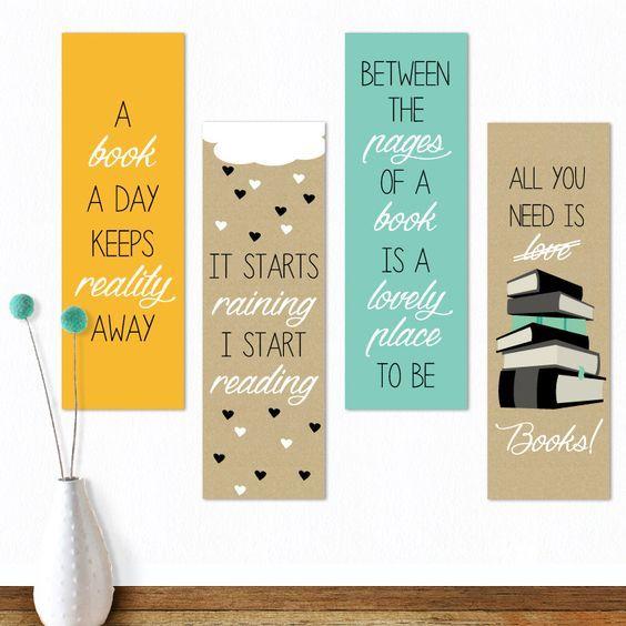 Ideas Creativas Para Separadores De Libros Separador De