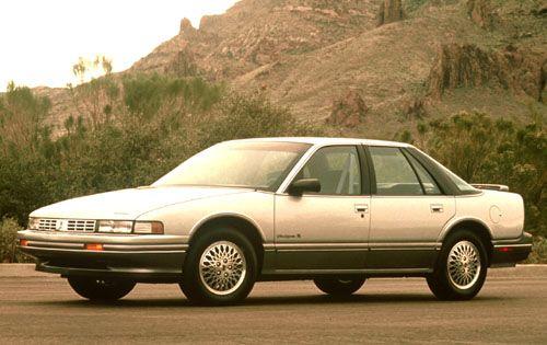 1990 Cutlass Supreme Sedan Oldsmobile Cutlass Oldsmobile Cutlass Supreme Oldsmobile