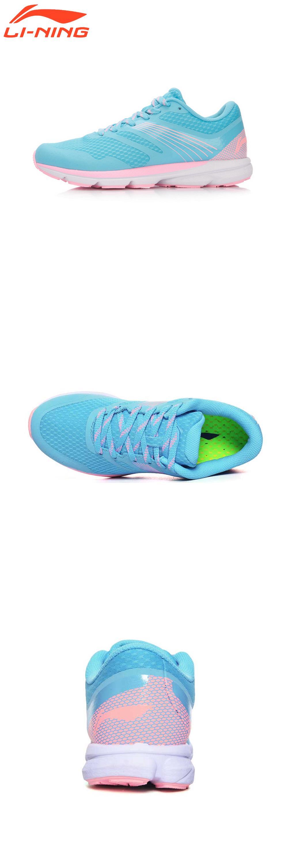 Visit To Buy Li Ning Women Smart Chip Running Shoes