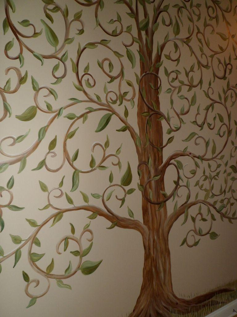 Tree Murals Savard Studios Whimsical Tree Of Life Wall Mural