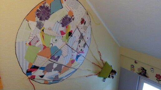 Patchwork balloon