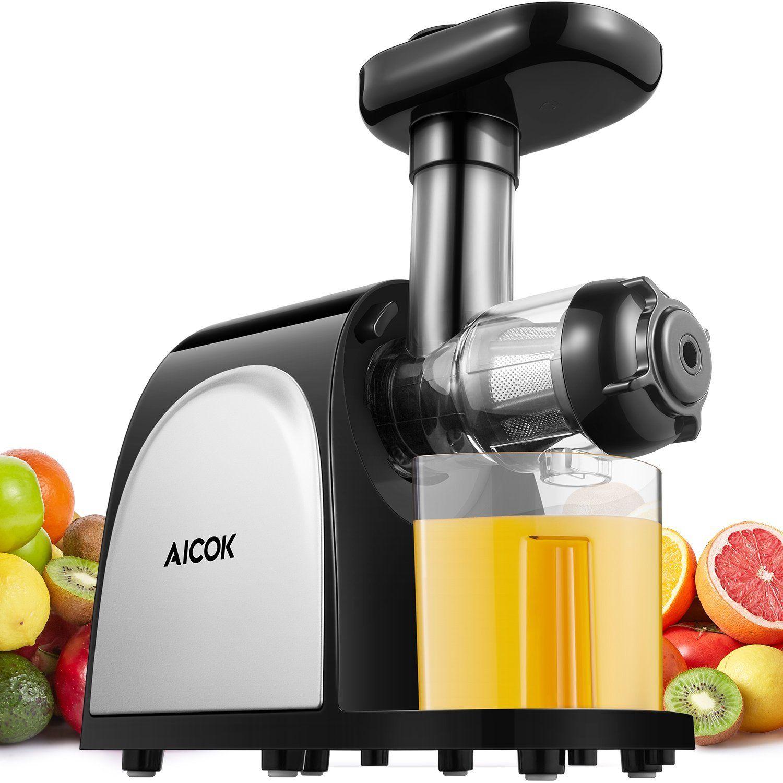 Amazon.com: Juicer Slow Masticating Juicer, Aicok Juice ...