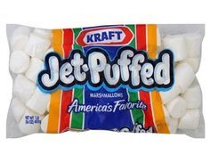 Kraft Marshmallow Conversion Chart Recipe Jet Puffed